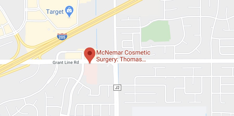 Directions to McNemar Plastic Surgery's Tracy location