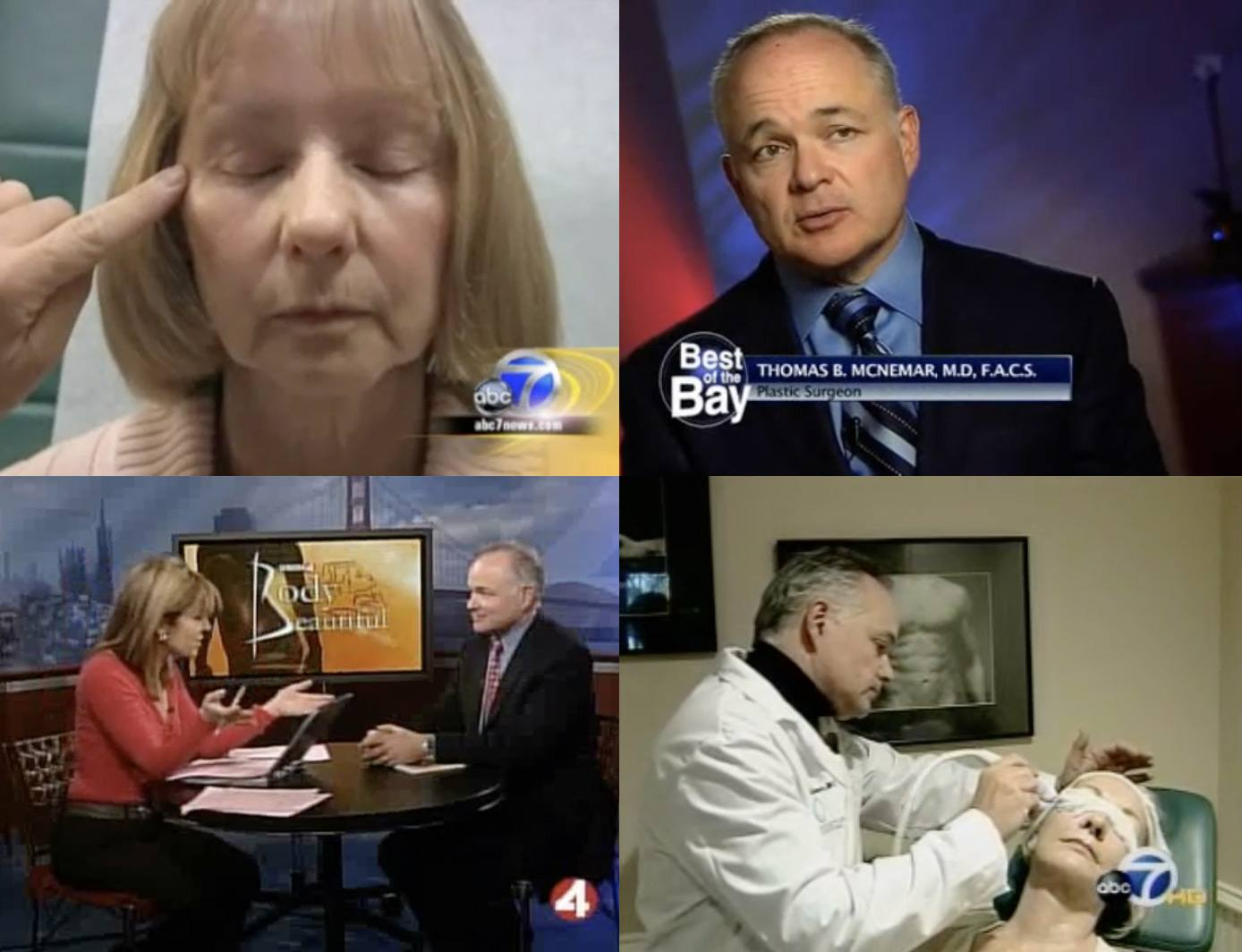 Thumbnails of videos where Dr. McNemar has been featured